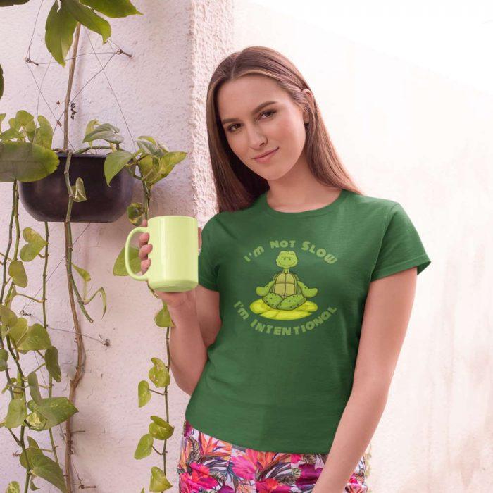 mindfulness turtle shirt