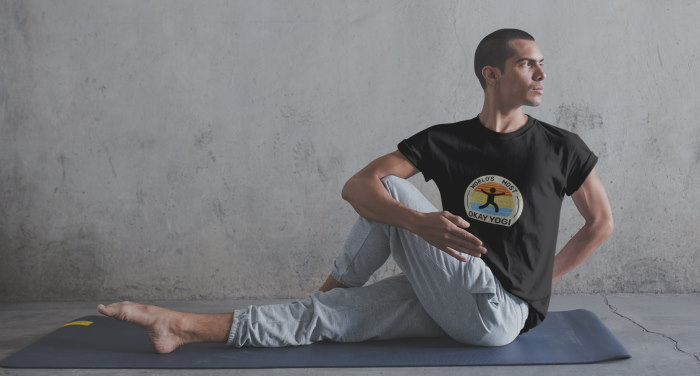 world's most okay yogi shirt