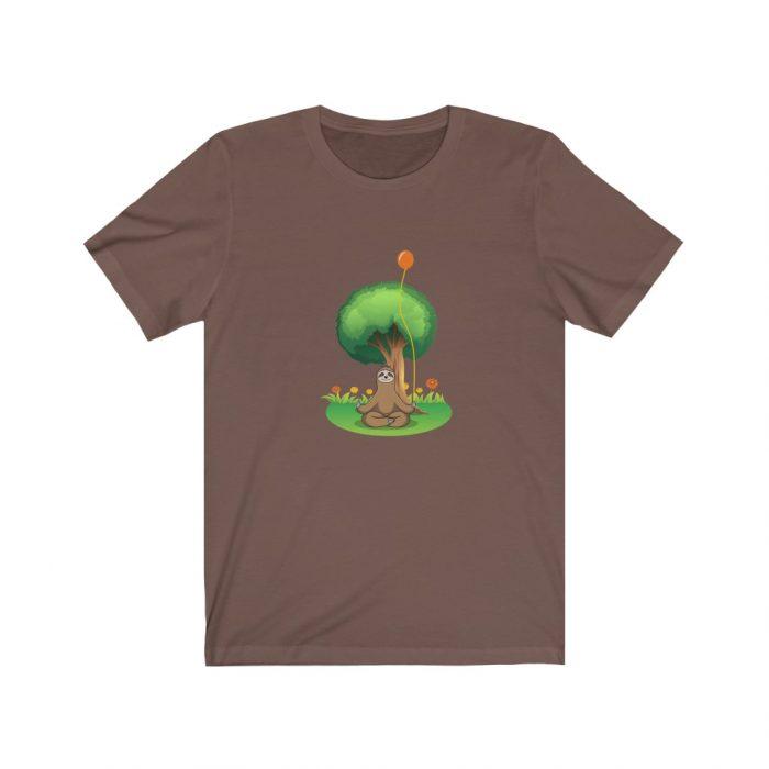 sloth mindfulness shirt